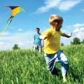 Мальчик с воздушным змеем - Boy with a kite