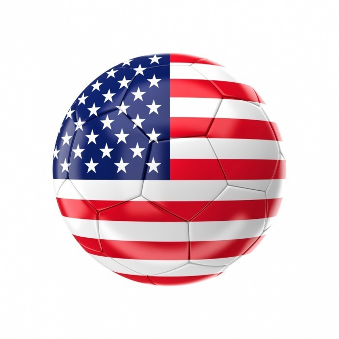 Fotolia 62769977 Subscription Monthly M 700x700 Мяч с американской символикой   Ball with American symbols