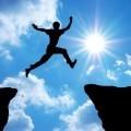 Прыжок над обрывом - Jump over the precipice