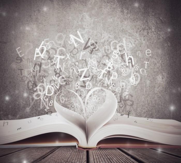 Translation traineeships    fotolia.com alphaspirit 700x630 Раскрытая книга с буквами   Open book with letters