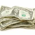 Долларовые купюры - Dollar bills
