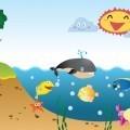 Морская анимация - Fried fish
