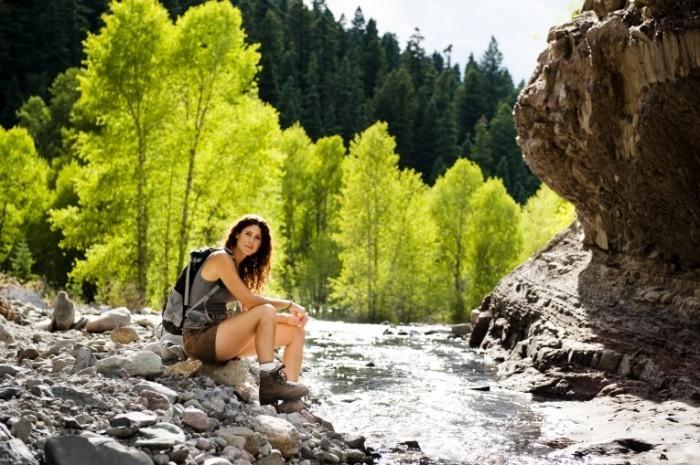 shutterstock 88477876 700x465 Туристка    Tourist