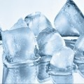 Лед кубиками - Ice cubes