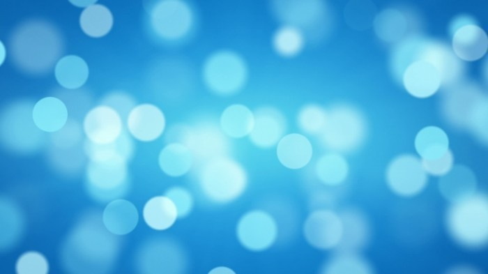 stock footage shiny blue defocused lights computer generated seamless loop abstract motion background 700x393 Боке   Bokeh