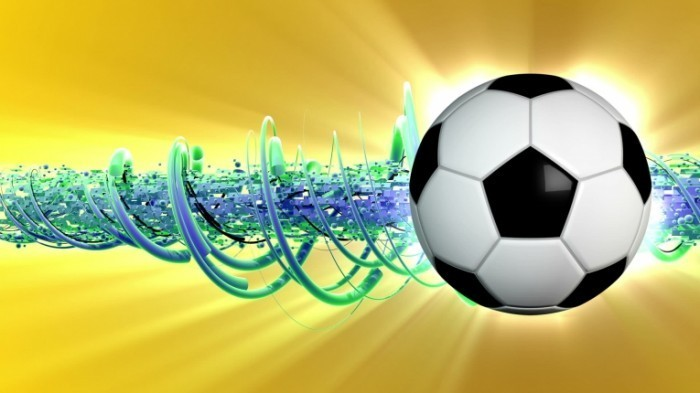 stock footage soccer background soccer background with spinning soccer ball dynamic spirals in motion great 700x393 Футбольный мяч   Football