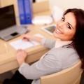 Девушка офис менеджер - Female office manager