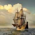 Корабль с парусами - Ship with sails