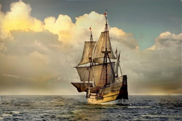 Fotolia 10016963 M 700x464 Корабль с парусами   Ship with sails