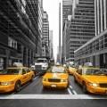 Такси в городе - Taxis in the city