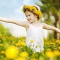 Девочка на цветочном поле - Girl in the flower field
