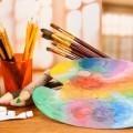 Краски и кисти - Paints and brushes