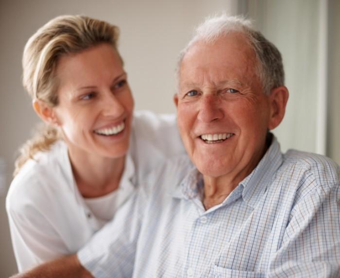 shutterstock 39734485 700x572 Пожилой мужчина с женщиной   Elderly man with a woman