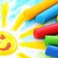 Цветные мелки - Сrayons