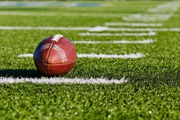 shutterstock 5805853 23 700x466 Мяч для американского футбола   Ball for american football