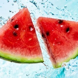 Арбуз в воде - Watermelon in water