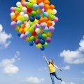 Девушка с воздушными шарами - Girl with balloons