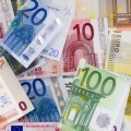 Купюры евро - Euro banknotes