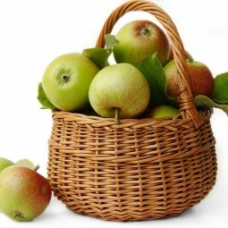 Яблоки в корзине - Apples in a basket