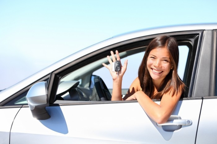 Fotolia 33872038 Subscription XXL 700x466 Девушка в авто   Girl in car