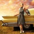 Девушка в платье возле авто - Girl in dress near the car
