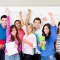 Счастливые студенты - Happy students