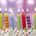 Свечки на день рождения - Candles on birthday