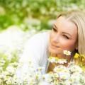 Девушка в ромашках - Girl in daisies