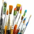 Кисточки для рисования - Brushes for painting