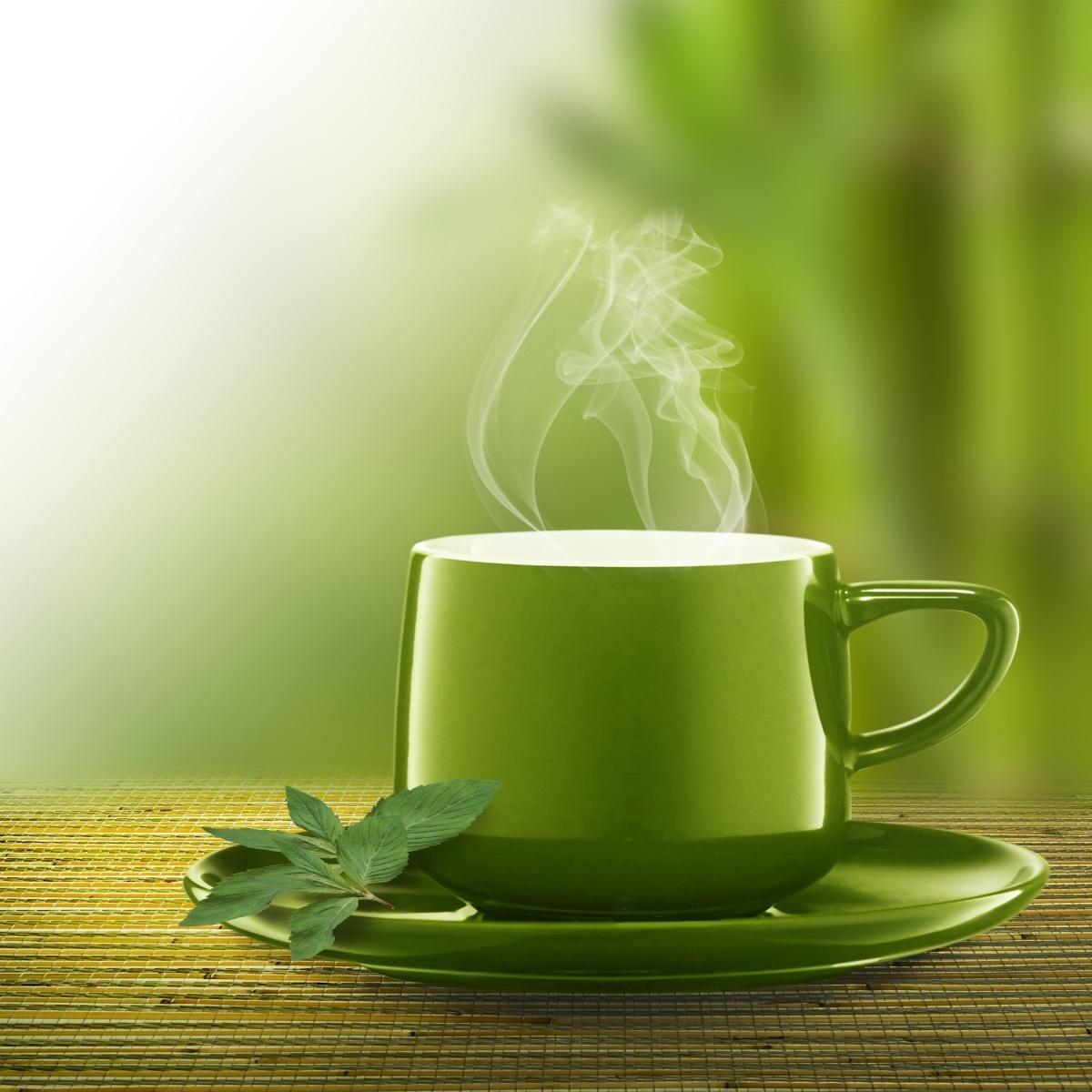Зеленая чашка чая Green Tea Cup