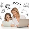 Женщина с девочкой за ноутбуками - Woman with a girl for laptops