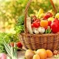 Корзина овощей и фруктов - Basket of vegetables and fruits