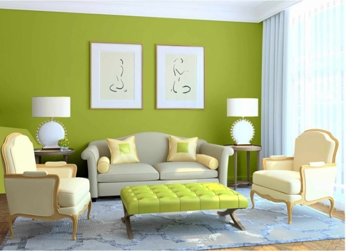 shutterstock 716640191 700x507 Интерьер гостинной   Interior living room