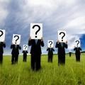 Мужчины со знаками вопросов - Men with question marks