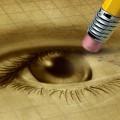 Глаз с карандашом - Eye with a pencil