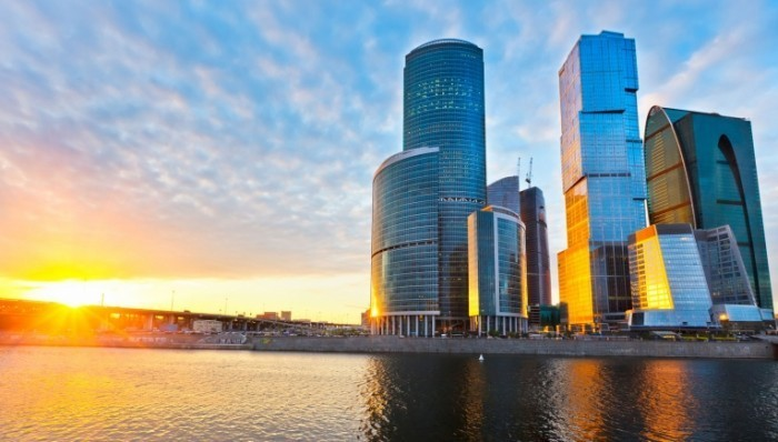 Depositphotos 6271579 m 700x398 Небоскребы над водой   Skyscrapers over water