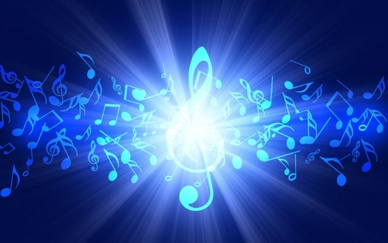 Скрипичный ключ фон