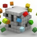 3Д куб - 3D cube