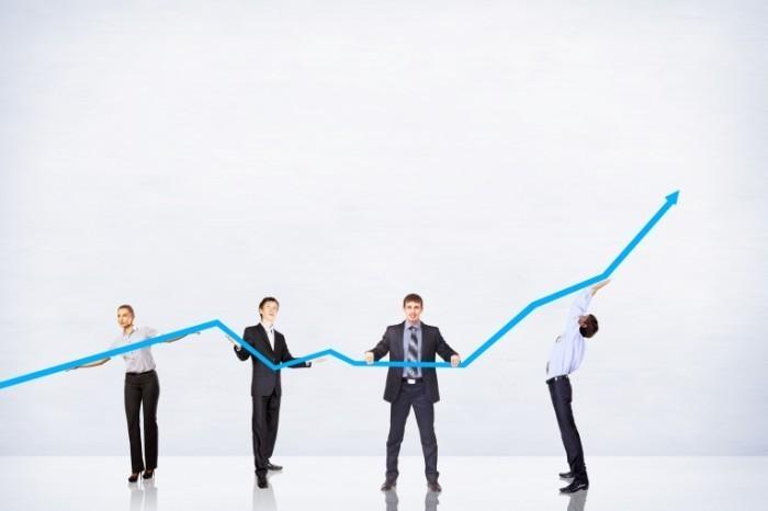 shutterstock 119648005 700x466 Бизнес график   Business graph