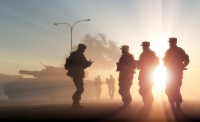 shutterstock 129920999 700x427 Солдаты   Soldiers