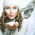 Девушка со снегом - Girl with snow
