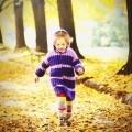 Девочка в листьях - Girl in the leaves