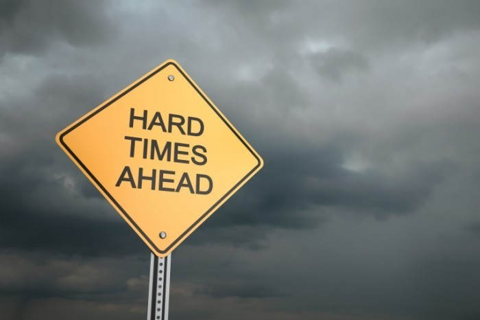 Dollarphotoclub 57987197 700x466 Знак сложное время   Sign of the hard time