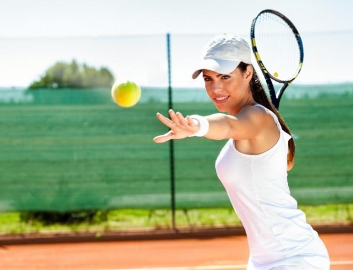 Dollarphotoclub 62677552 700x535 Теннесистка   Tennis