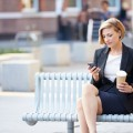 Бизнес леди на перерыве - Business woman on a break