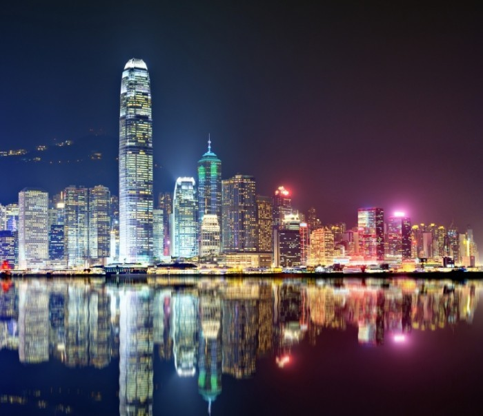 Fotolia 53430351 Subscription Monthly M 700x604 Ночной Гонконг   Night Hong Kong