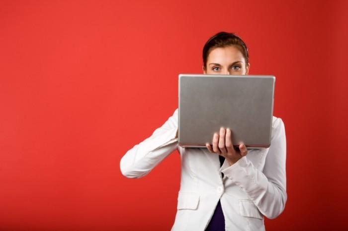 photodune 250684 700x466 Девушка с ноутбуком   Girl with laptop