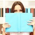 Девушка с книгами - Girl with books