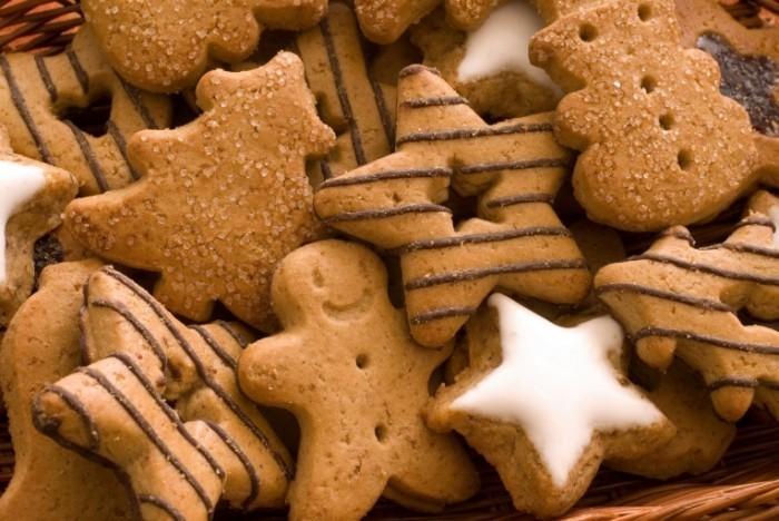 Christmas cookies christmas 22227520 2048 1371 700x468 Печенье звездочки   Cookies stars