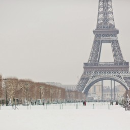 Зимний Париж - Winter in Paris